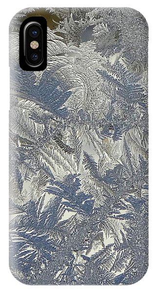 Frosty Patterns IPhone Case