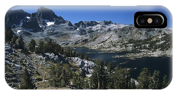 Garnet Lake And Banner Peak IPhone Case