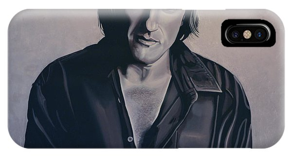 Paris Metro iPhone Case - Gerard Depardieu Painting by Paul Meijering