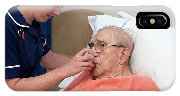 Chronic iPhone Case - Geriatric Nursing by Life In View/science Photo Library