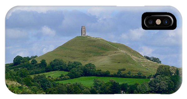 Glastonbury Tor IPhone Case