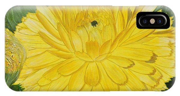 Golden Punch IPhone Case