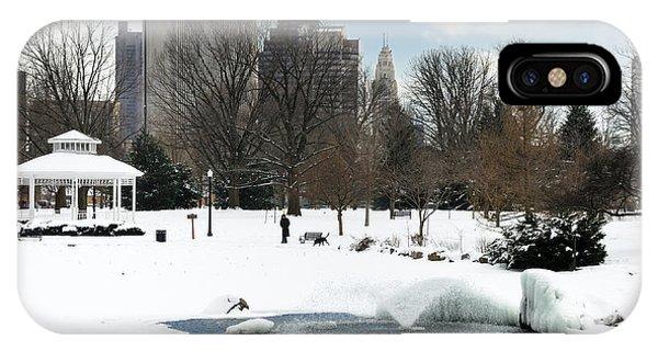 D48l3 Goodale Park Photo IPhone Case