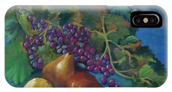 Grapes And Pears IPhone Case