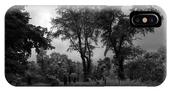 Graveyard 1 IPhone Case
