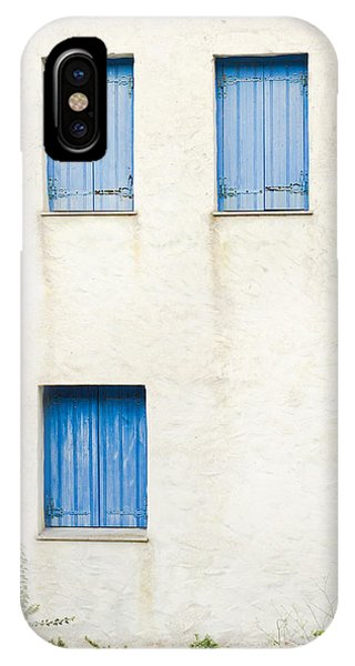 Greece iPhone X Case - Greek House by Tom Gowanlock
