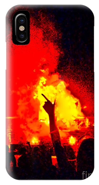 IPhone Case featuring the photograph Guns-up Salute by Mae Wertz