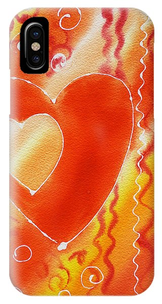 Hearts For Valentine IPhone Case