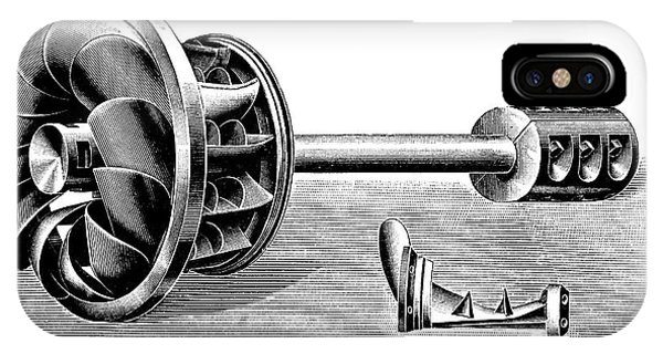 Hercule-progres Turbine IPhone Case