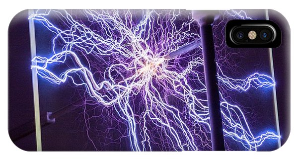 High Voltage Electrical Discharge IPhone Case
