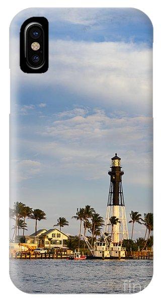 Hillsboro Inlet Lighthouse IPhone Case