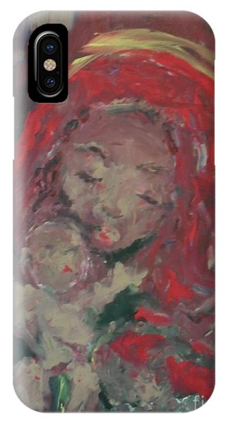 IPhone Case featuring the painting Hope  by Laurie Lundquist