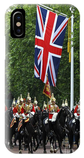 Household Cavalry Life Guards IPhone Case