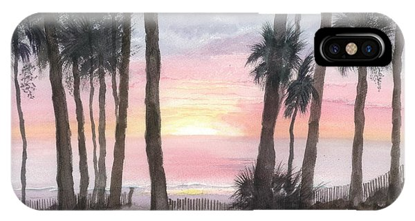 Hunting Island Sunrise IPhone Case