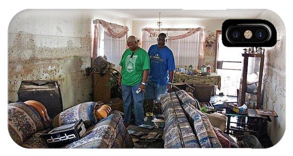 Katrina iPhone Case - Hurricane Katrina Damage by Jim West