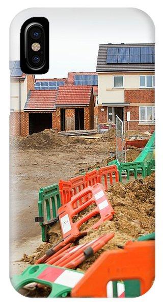 Hutton Rise Housing Development IPhone Case