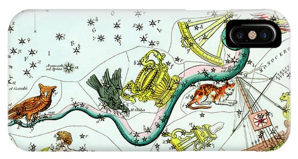 Hydra Constellation Phone Case by Royal Astronomical Society/science Photo Library