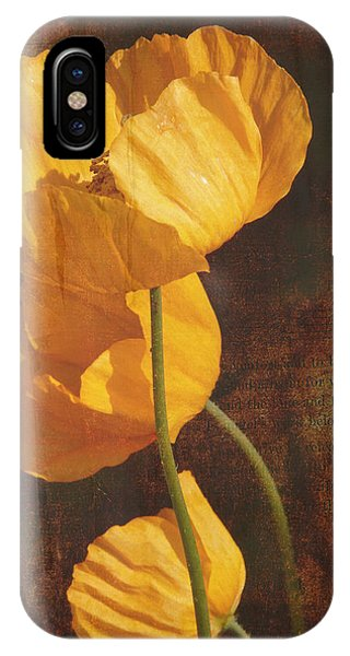 Icelandic Poppy IPhone Case