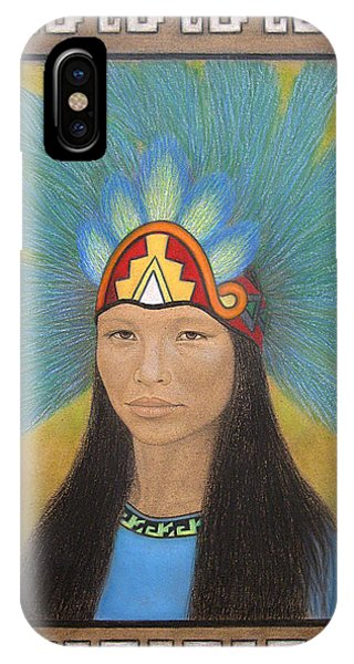 Ichpochtli IPhone Case