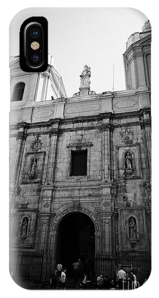 Iglesia De Santo Domingo Santiago Chile Phone Case by Joe Fox