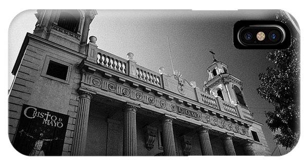 iglesia san agustin Santiago Chile Phone Case by Joe Fox