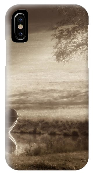 Pond iPhone Case - In Quiet Solitude by Tom Mc Nemar