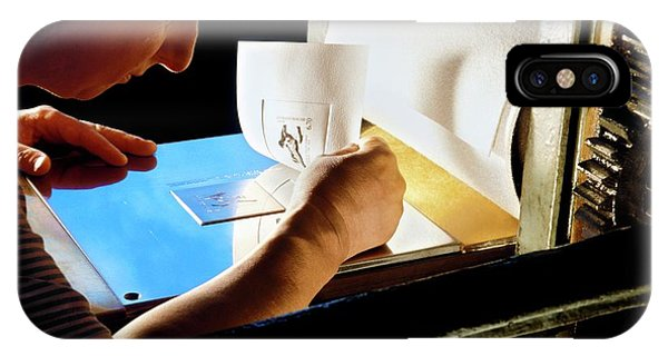 Intaglio Printmaking IPhone Case