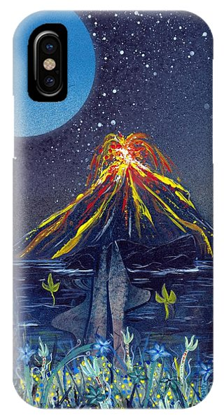 IPhone Case featuring the painting Interruption by Jason Girard
