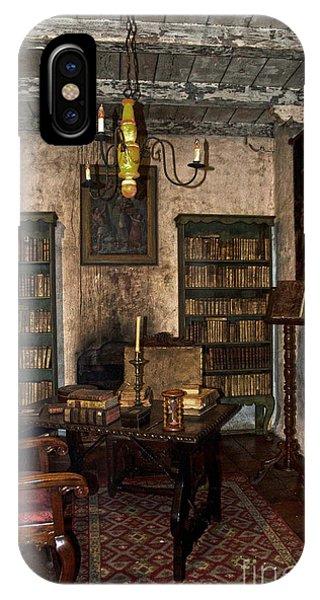 Junipero Serra Library In Carmel Mission IPhone Case