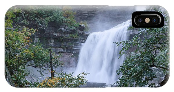 Kaaterskill Falls Square IPhone Case