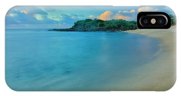 iPhone Case - Kaupoa Bay Shoreline On Molokais West by Richard A Cooke Iii.