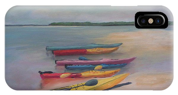 Kayaking Trip IPhone Case