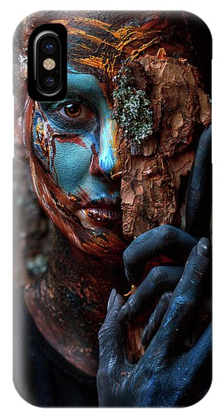 People iPhone Case - Keeper Of The Wood by Ivan Kovalev