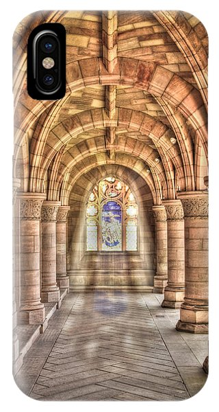 IPhone Case featuring the photograph Kelso Abbey by Susan Leonard
