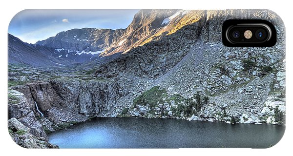 Fourteener iPhone Case - Kit Carson Peak And Willow Lake by Aaron Spong