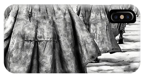 Korean War Memorial Washington Dc IPhone Case