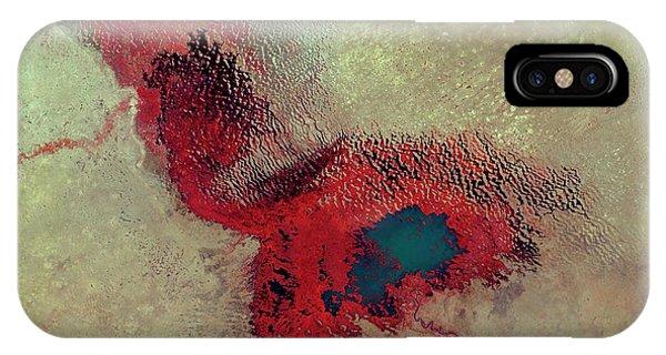 Lake Chad Phone Case by Nasa/science Photo Library