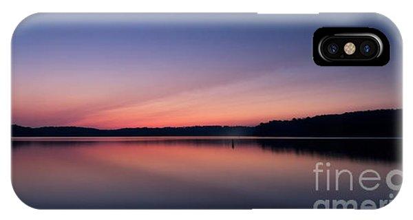 Lake Lanier After Sunset IPhone Case