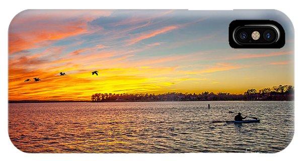 Lake Murray Fisherman IPhone Case