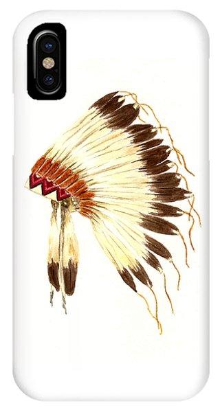 Lakota Headdress IPhone Case