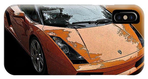 Lamborghini Gallardo Spyder IPhone Case