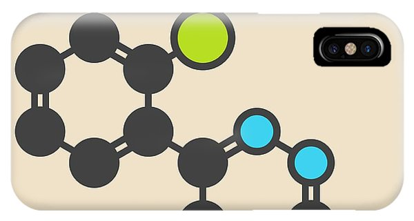 Lamotrigine Seizures Drug Molecule IPhone Case