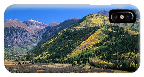 San Miguel iPhone Case - Landscape With Mountain Range by Panoramic Images