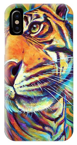 Le Tigre IPhone Case