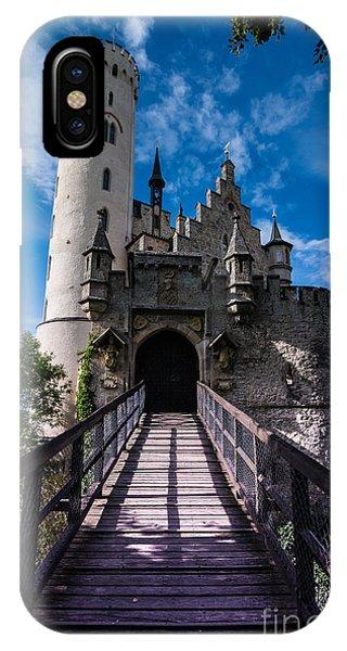 Lichtenstein Castle - Baden-wurttemberg - Germany IPhone Case