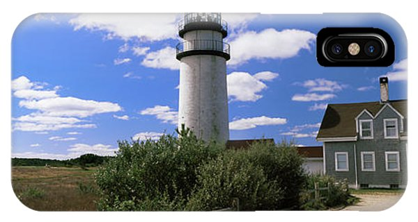 Cape Cod iPhone Case - Lighthouse In The Field, Highland by Panoramic Images