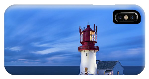 Lindesnes Fyr - Lighthouse In The South Of Norway IPhone Case