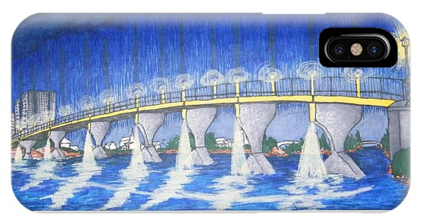Lit Bridge IPhone Case