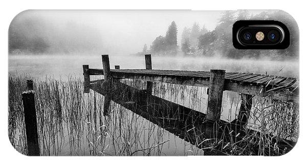 Loch Ard iPhone Case - Loch Ard Early Mist by John Farnan