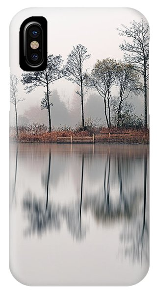 Loch Ard iPhone Case - Loch Ard Reflections by Grant Glendinning